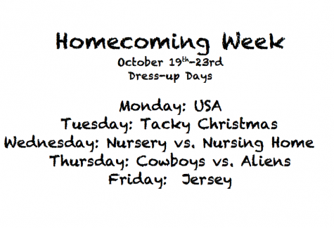 Homecoming is On the Way!